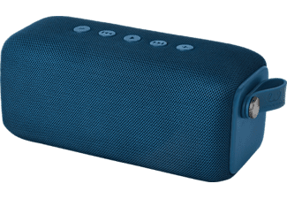 FRESH N REBEL Rockbox Bold M, Bluetooth Lautsprecher, Wasserfest, Blau