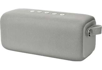 FRESH N REBEL Rockbox Bold L, Bluetooth Lautsprecher, Wasserfest, Hellgrau