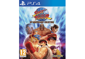 CAPCOM Street Fighter Anniversary Edition PS4 Oyun
