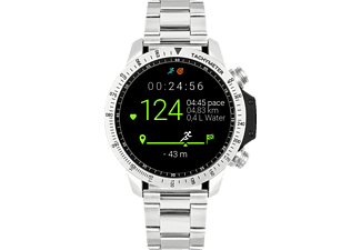 VIITA WATCH Active HRV Adventure, Smartwatch, Edelstahl, -, silber