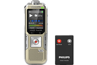 PHILIPS VoiceTracer Audiorecorder DVT6510 Audiorecorder, Champagner/silbergrau , 8 GB