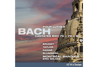 Montreal Baroque - Cantates Pour Luther - (CD)