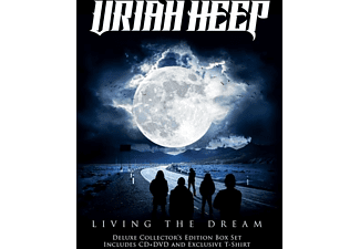 Uriah Heep - Living The Dream (CD+DVD+T-Shirt Größe L Boxset) - (CD + DVD Video)