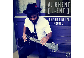 Aj Ghent (j-ent) - The Neo Blues Project - (CD)
