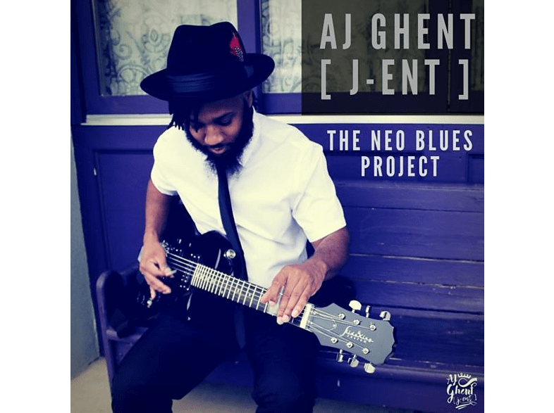 Aj Ghent (j-ent) - The Neo Blues Project [CD]