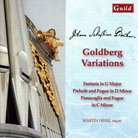 Martin Heini - Goldberg Variationen [CD]