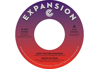 Gwen McCrae - Keep The Fire Burning/Funky Sensation - (Vinyl)