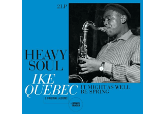 Ike Quebec - Heavy Sould/It Might As We As Well Be Spring - (Vinyl)