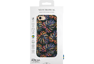 IDEAL OF SWEDEN Neon Tropical Backcover Apple iPhone 7 Plastik, Mikrofaser-Futter Neon Tropical