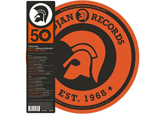 VARIOUS - Trojan 50th Anniversary Picture Disc - (Vinyl)