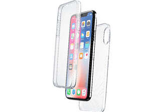 CELLULAR LINE Clear Touch 2in1 Handyhülle, passend für Apple iPhone X