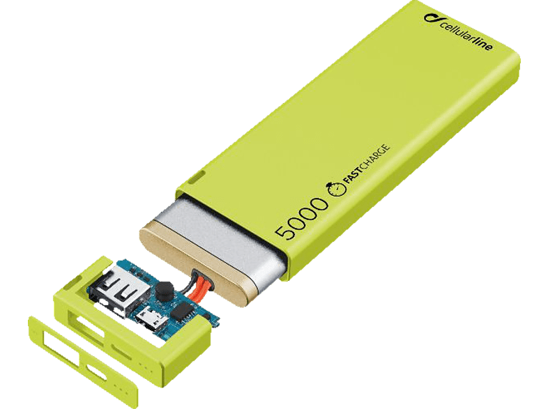 CELLULAR LINE  FreePower Slim Powerbank 5000 mAh | 08018080315923
