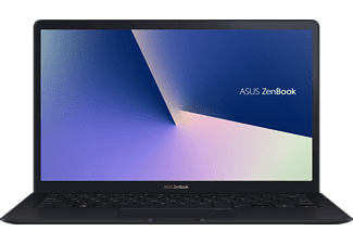 ASUS ZenBook S UX391UA-EG062T, Notebook mit 13.3 Zoll Display, Core™ i7 Prozessor, 8 GB RAM, 512 GB SSD, UHD Graphics 620, Deep Dive Blue