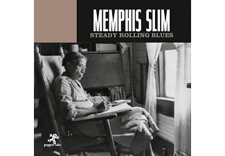 Memphis Slim - Steady Rolling Blues - (CD)