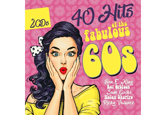 VARIOUS - 40 HITS OF THE FABULOUS 60S - (CD)