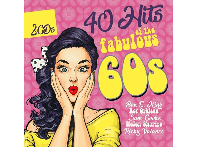 VARIOUS - 40 HITS OF THE FABULOUS 60S [CD]