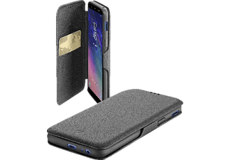 CELLULAR LINE Bookclutch , Samsung Galaxy A6+ (2018), Schwarz