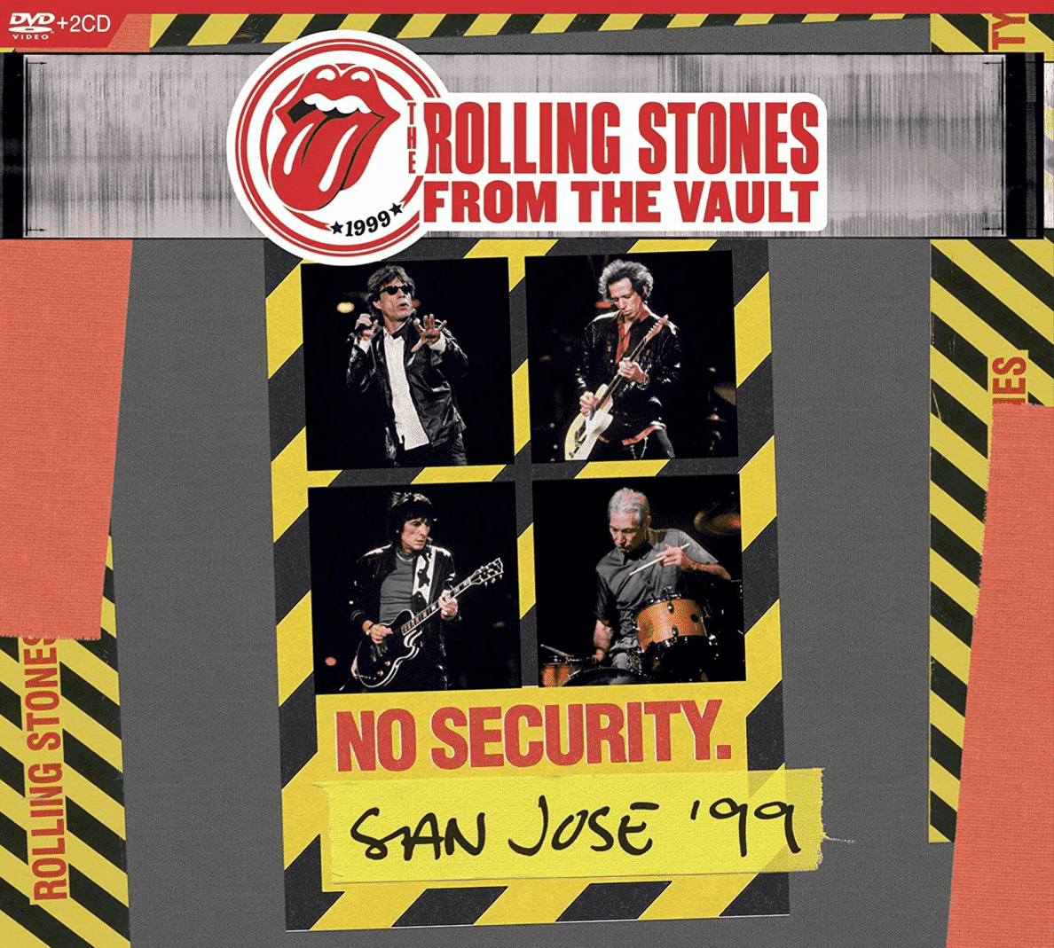 From The Vault: No Security-San Jose 1999 (+2CD) The Rolling Stones auf DVD + CD