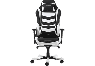 DXRACER Iron I166 Gaming Chair, Black/White Gaming Stuhl, Schwarz/Weiss