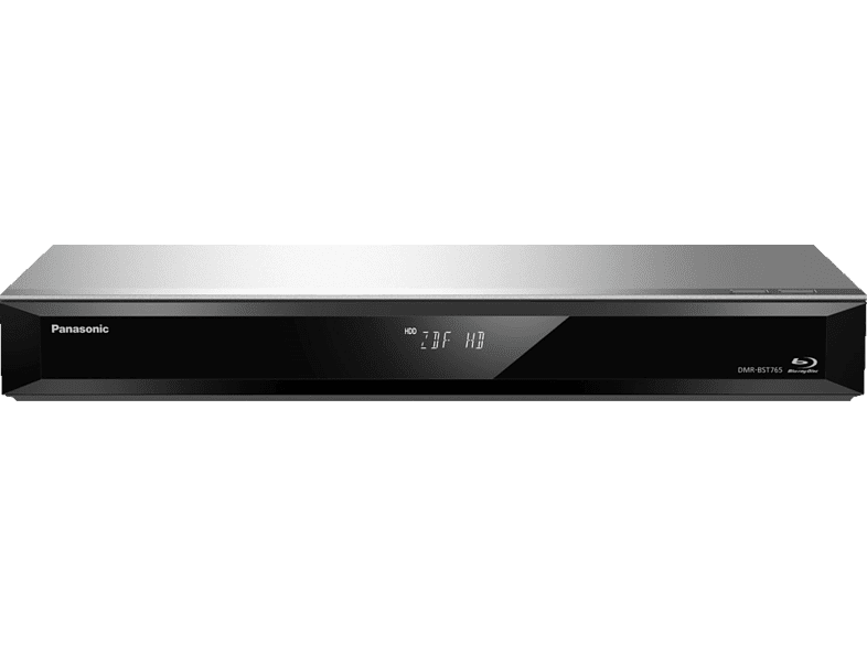 PANASONIC  DMR-BST765 Blu-ray Recorder 500 GB, Silber | 05025232867141