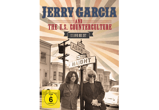 JERRY GARCIA AND THE U.S.COUNTERCULTURE [DVD]