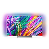 PHILIPS 65PUS8303 LED TV (Flat, 65 Zoll/164 cm, UHD 4K, SMART TV, Ambilight, Android TV)