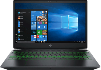 HP Pavilion 15-CX0305NG, Notebook, Core™ i5 Prozessor, 16 GB RAM, 1 TB HDD, 128 GB SSD, GeForce GTX 1050, Schwarz