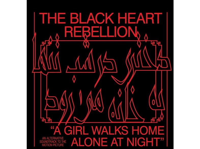 The Black Heart Rebellion - A Girl Walks Home Alone At Night [CD]