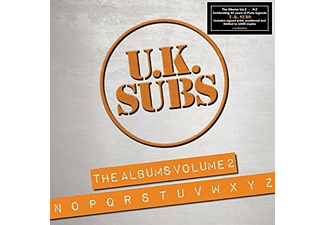Uk Subs - The Albums Vol.2 (N-Z) - (CD)