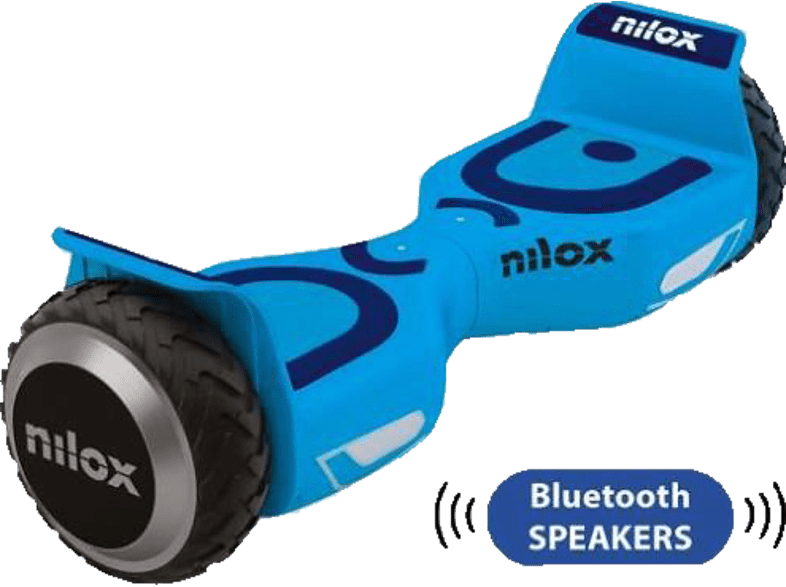 NILOX DOC 2 PLUS SKY BLUE NEW E-Board, Himmelblau