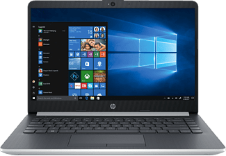 HP 14-ma0302ng, Notebook mit 14 Zoll Display, Celeron® Prozessor, 4 GB RAM, 128 GB SSD, UHD-Grafik 600, Natural Silver/Ash Silver