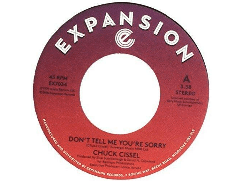 Chuck Cissel - don''t tell me you''re sorry / do you believe [Vinyl]