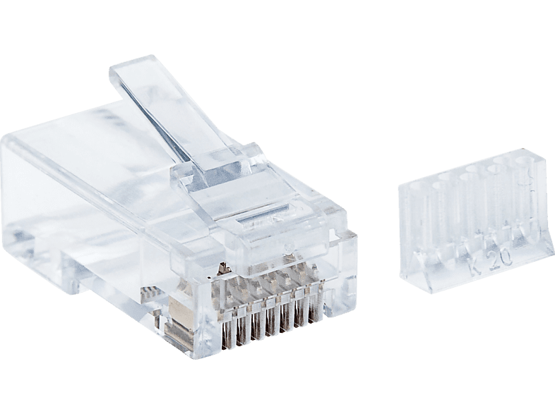 INTELLINET  90er-Pack Cat6 RJ45 Modularstecker | 00766623790604