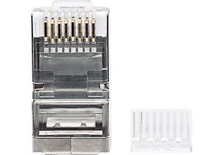 INTELLINET 90er-Pack Cat6 RJ45-Modularstecker, Modularstecker
