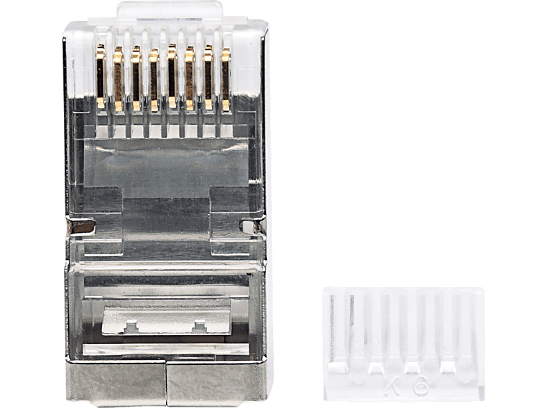 INTELLINET  90er-Pack Cat6 RJ45-Modularstecker Modularstecker | 00766623790628