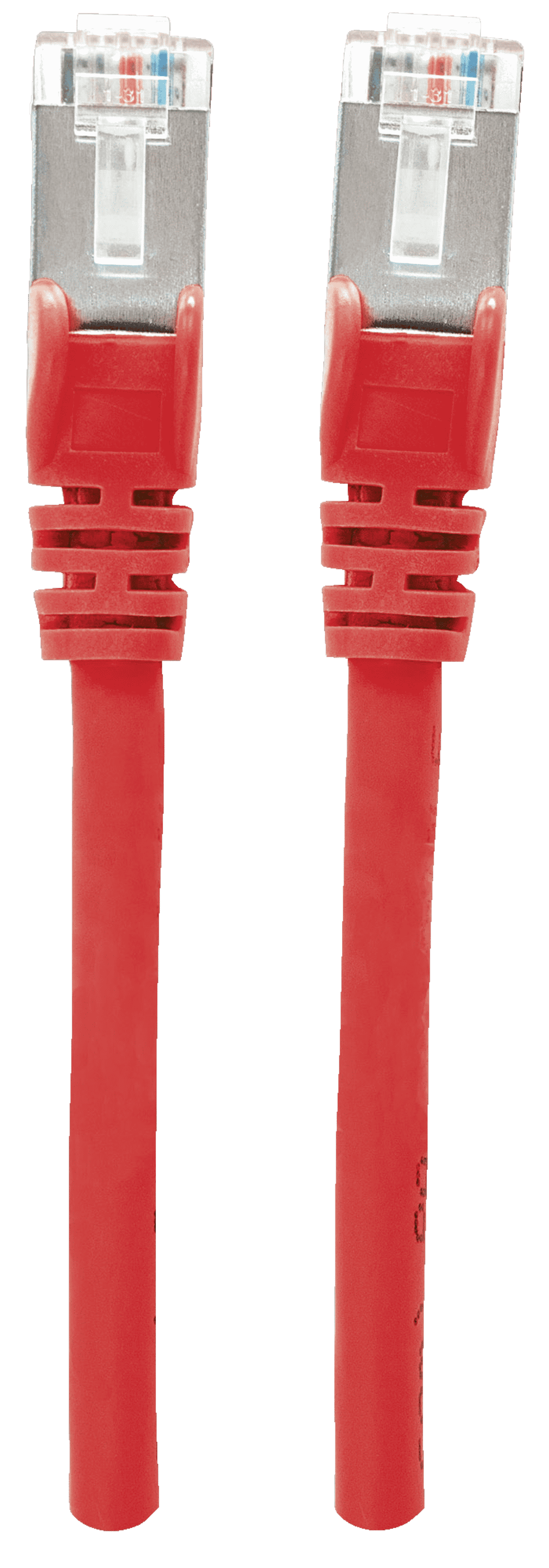 INTELLINET  Premium Netzwerkkabel, Cat6, S/FTP Patchkabel 1 m in Rot | 00766623736145