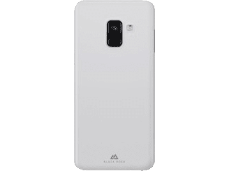 BLACK ROCK Cover Ultra Thin Iced Backcover Samsung Galaxy A8 (2018) Polypropylen Transparent
