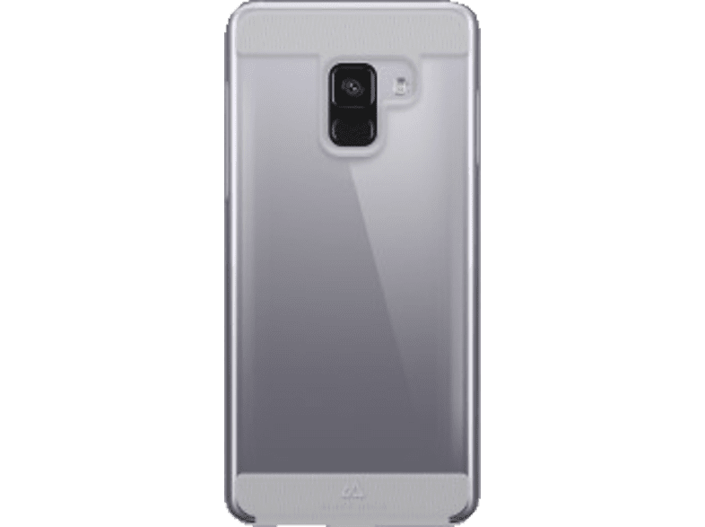 BLACK ROCK Cover Air Protect Backcover Samsung Galaxy A8 (2018) Thermoplastisches Polyurethan Transparent