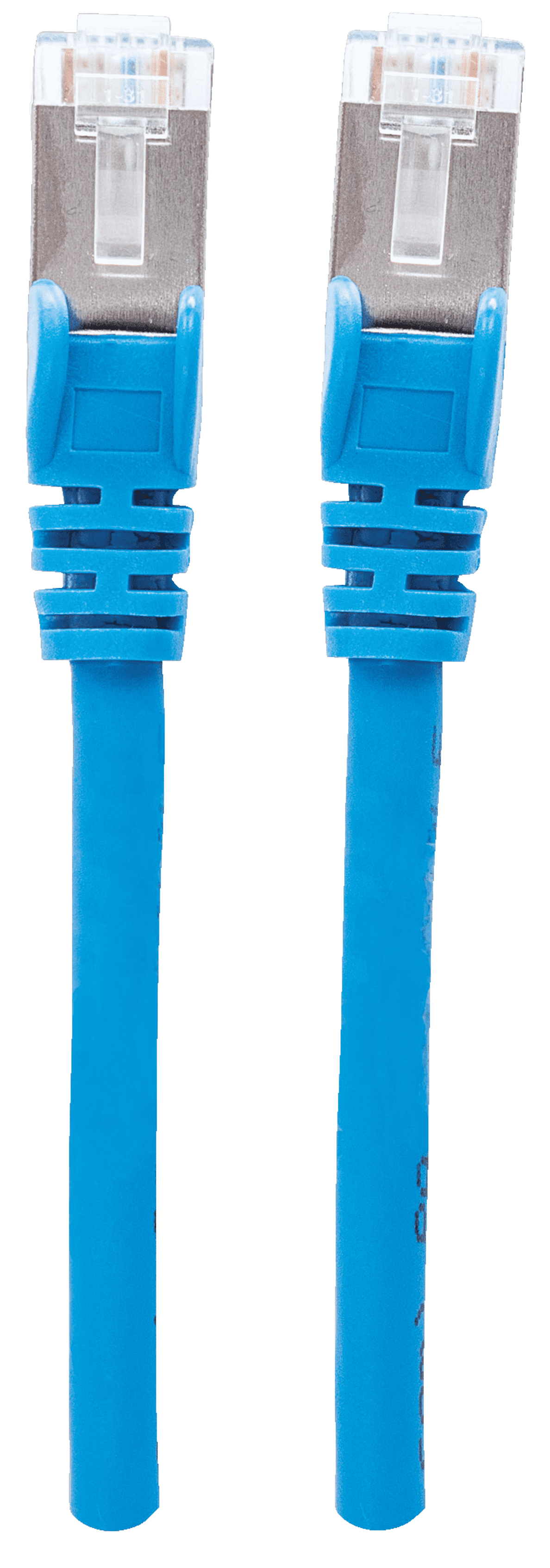 INTELLINET  350723 Patchkabel 0.5 m in Blau | 00766623350723