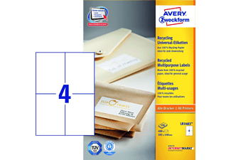 AVERY ZWECKFORM Recycling Tiquettes Universelles 105 X 148 Mm 400