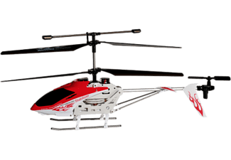 WIRELESSINPUT iSuper iHeli 032 Appgesteurter Helicopter Weiss/rot