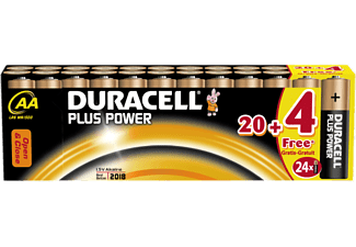 DURACELL AA PLUS POWER ALKALINE 24PCS