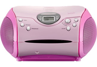 LENCO SCD-24 MP3 Radio (Rose)