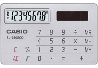 CASIO SL-760ECO - Calculatrice de poche (Silver)