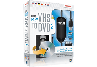 PC - Roxio Easy VHS to DVD 3 /Mehrspachig