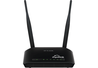 DLINK DIR-605L WIR.N 300 CLOUD ROUTER Wireless Router Schwarz