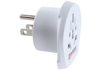 SKROSS COUNTRY ADAPTER WORLD TO US -  (Weiss)