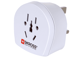 SKROSS COUNTRY ADAPTER WORLD TO UK  (Weiss)