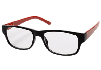HAMA 96266 READ GLASSES +1.5D BLACK/RED