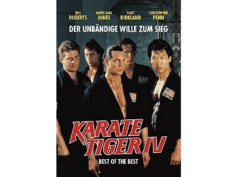 KARATE TIGER 4 - BEST OF THE BEST (O-CARD) UNCUT [DVD]